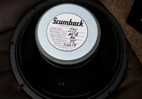 The Scumback J75 Speaker Upgrade