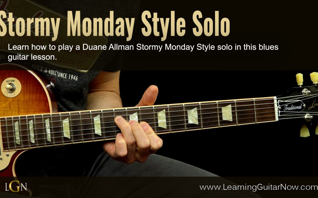 New Duane Allman Course Coming Soon