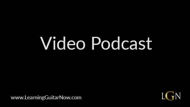 Video Podcast 60: Reconsider Blues Style Lick