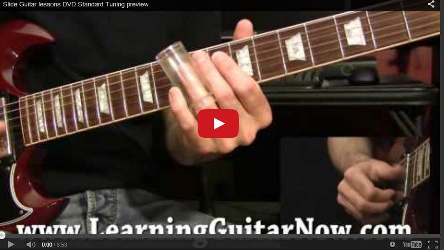 Standard Tuning Slide Guitar Lick