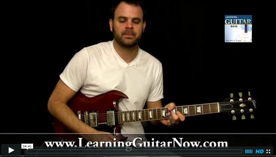 Video Podcast 47: Open E Tuning Slide Guitar