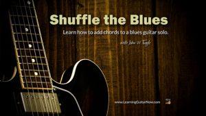 Shuffle the Blues Solo