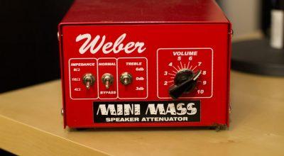 Weber Mini Mass Attenuator