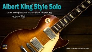 Albert King Style Solo