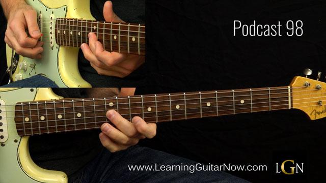 Eric Clapton Minor Blues Lick Podcast 98