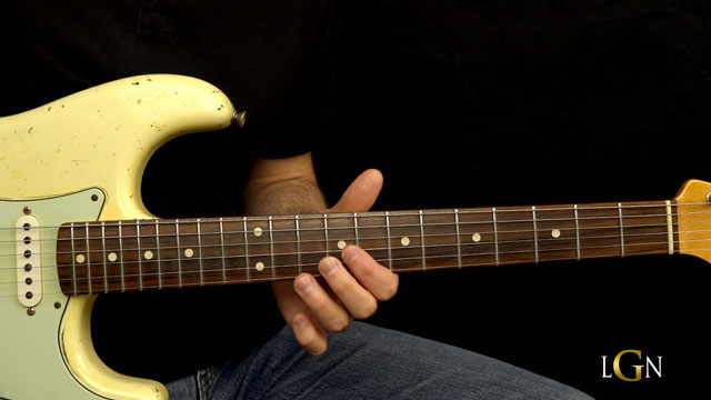 Podcast 10 - SRV Style Shuffle Blues Lick
