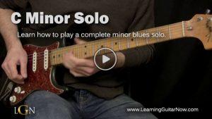 Minor Blues Solo