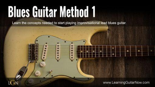 Blues Guitar Method 1