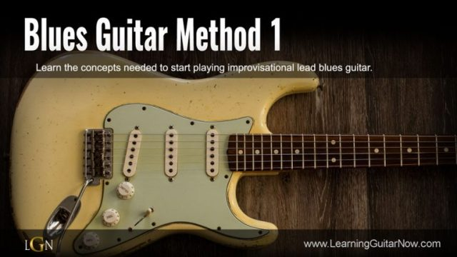 Blues Guitar Method 1