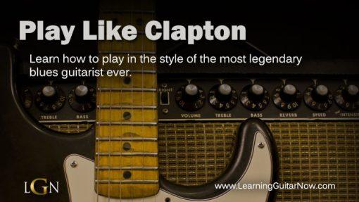 Play Like Clapton
