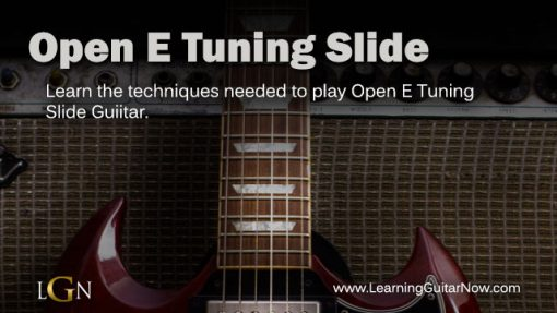 Open E Tuning Slide 2