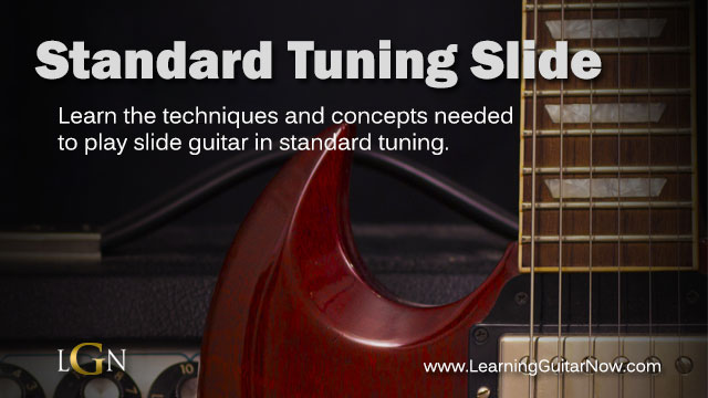 "How to Play ""Standard Tuning Slide Guitar"" in a Band"