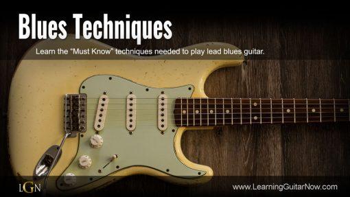 Blues Techniques