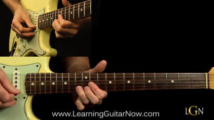 Podcast 18 – John Mayer Slow Blues Lesson