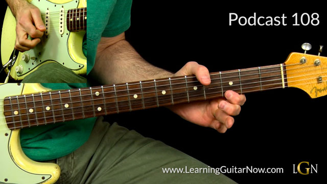 Johnny Winter Third Degree Blues Lick Lesson Podcast 108