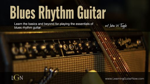 Blues Rhythm Guitar pt 1