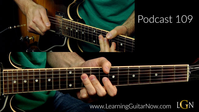 BB King Slow Blues Lesson Podcast 109