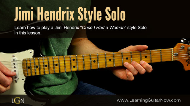 Jimi Hendrix Slow Blues Lesson
