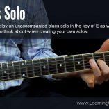 E-Blues-Solo