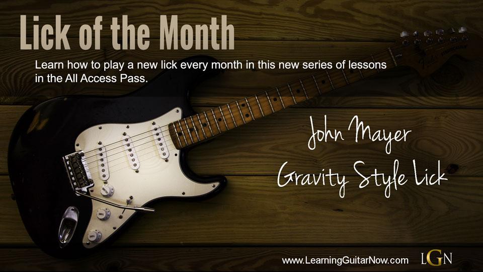 LOTM 1 John Mayer Gravity
