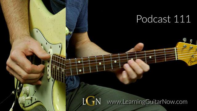Podcast 111 – Rhythmic Shuffle Solo in E