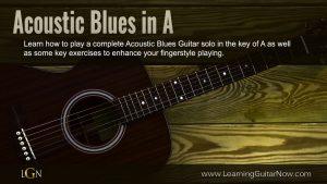 Acoustic Blues Guitar Solo