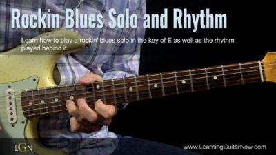 Rockin' Blues Solo Free Lesson