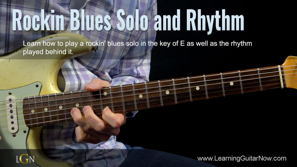 Rockin' Blues Solo Free Lesson