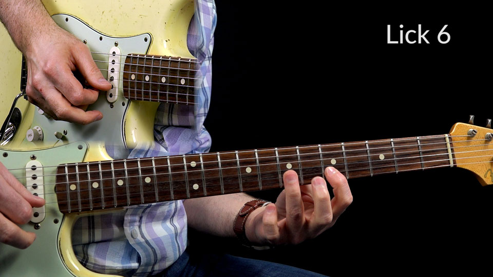 Shuffle Blues Lick Lesson