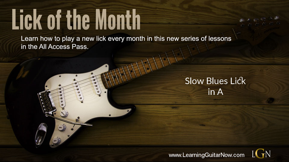 Lick of the month