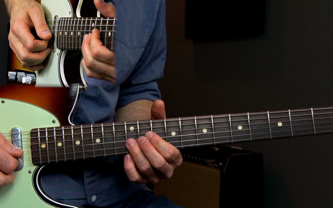 Lick of the Month 8 – SRV Albert King Style