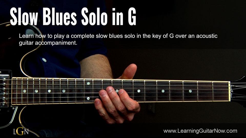 335 Slow Blues Lesson