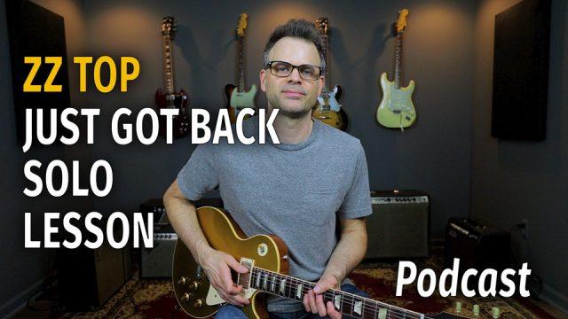 ZZ Top Just Got Back Style - Podcast 46