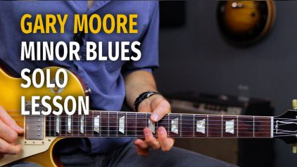 Gary Moore Influenced Minor Solo – Podcast 51