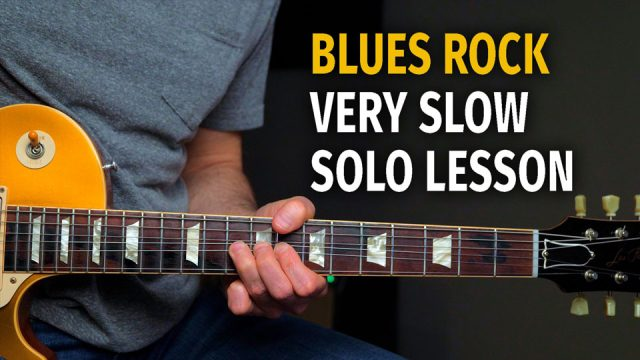 Slow Blues Rock Solo Lesson - Podcast 62