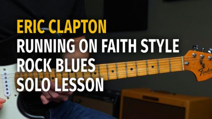 Clapton Running on Faith Style – Podcast 65