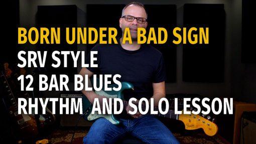 SRV Bad Sign Style Rhythm and Solo - Podcast 68