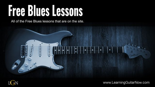 Slow Blues Solo in G Lesson