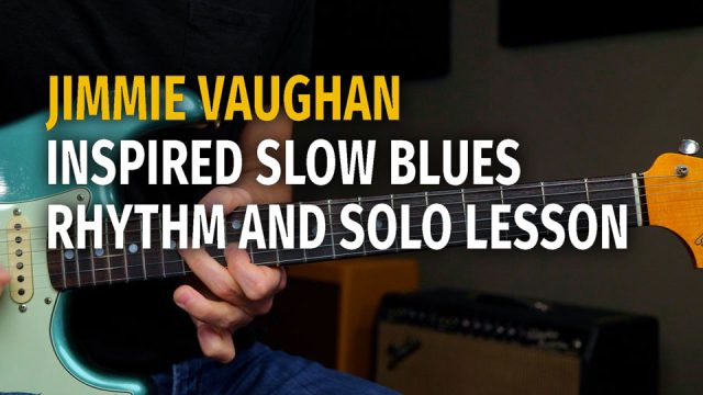 Jimmie Vaughan Inspired Slow Blues Podcast 70