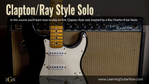 Clapton/Ray Style Rhythm and Solo