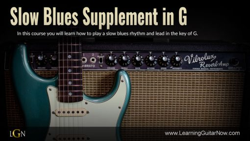 Slow Blues Supplement in G