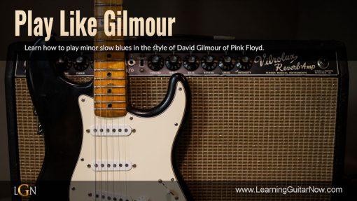 Play Like Gilmour