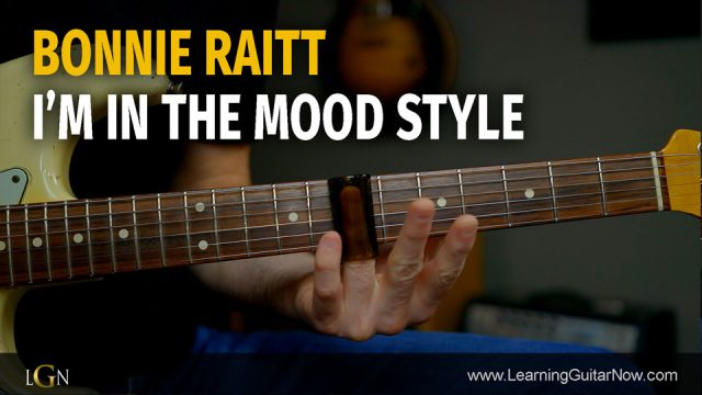 Bonnie Raitt In The Mood Style - Podcast 75