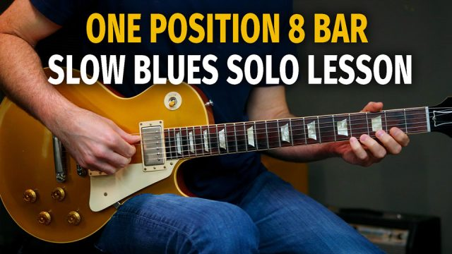 One Position 8 Bar Blues Solo Lesson - Podcast 77