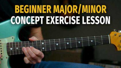 Beginner Major/Minor Concept Solo Lesson – Podcast 79